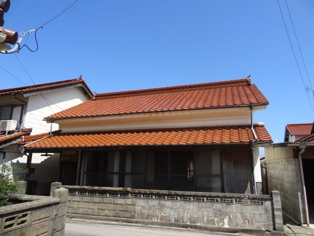 小浜衣毘須神社そばの一軒家